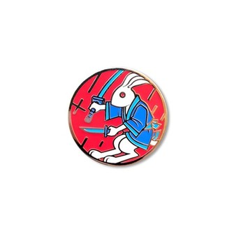 Aleix Gordo Hostau 'Gachirin (Red)' Enamel Pin