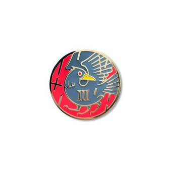 Aleix Gordo Hostau 'Nichirin (Red)' Enamel Pin